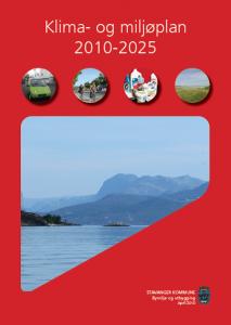 Stavanger kommune – Visjonen er fundamentet for klima – og miljøplanen